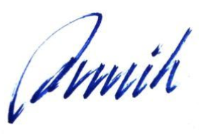 Signatur Annik