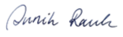 Signatur Annik Rauh